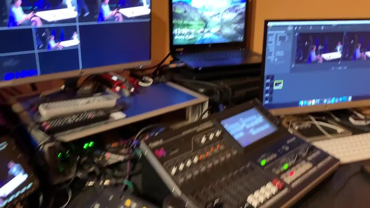 My facilities control room