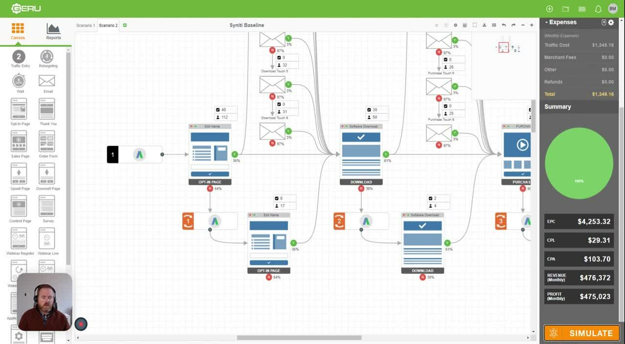 Syniti Baseline Digital Simulations