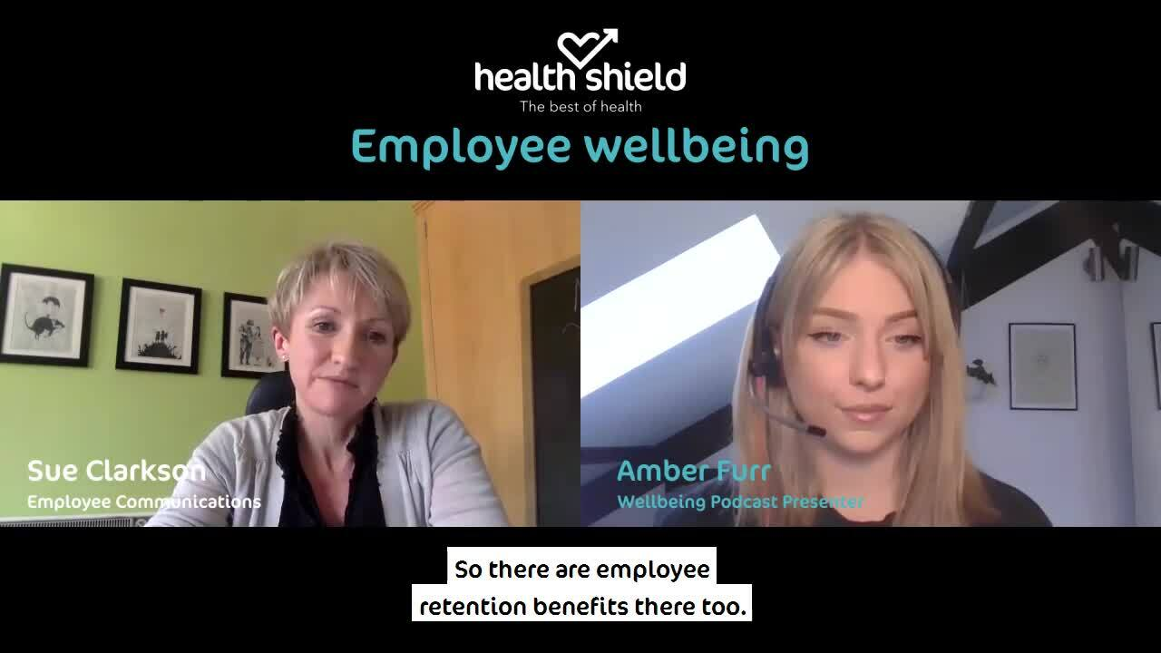 Employee Wellbeing podcast