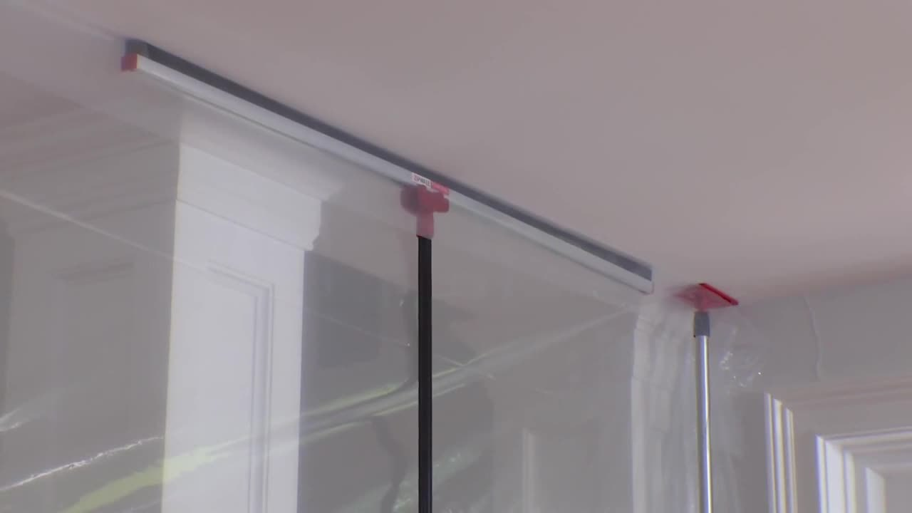 ZipWall FoamRail – How to Tightly Seal a Dust Barrier without Tape