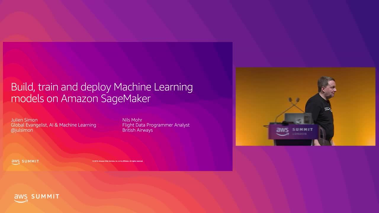Build, Train & Deploy Machine Learning