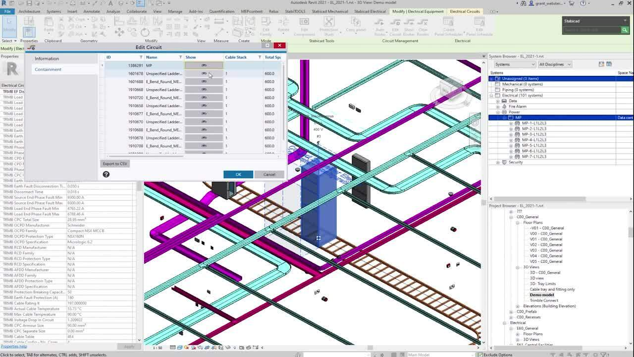 [On demand webinar] Optimise your circuit management with Stabicad Electrical for Revit