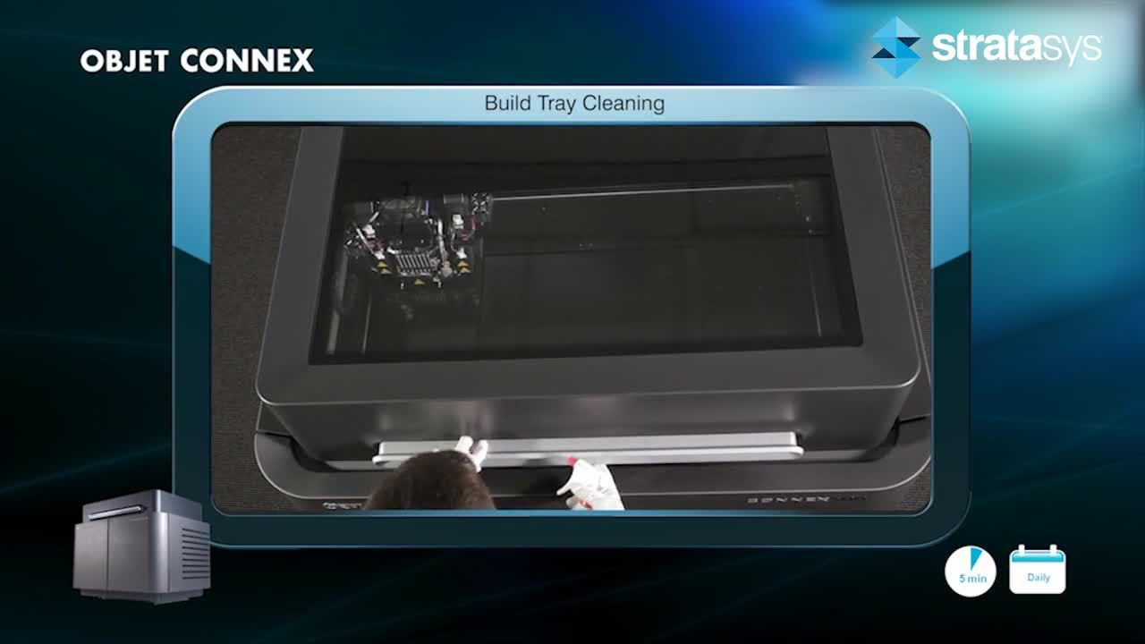 Build Tray Cleaning - Connex %>