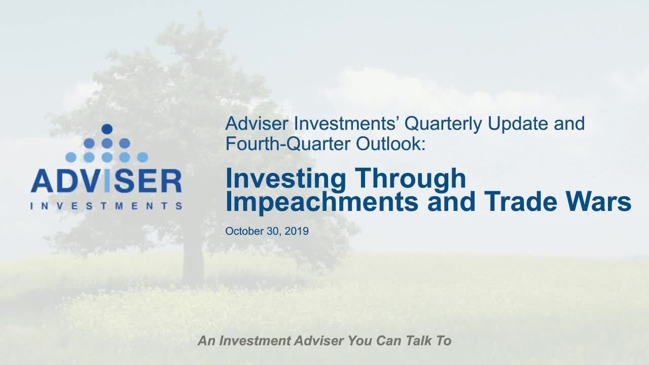 Webinar: Investing Through Impeachment and Trade Wars