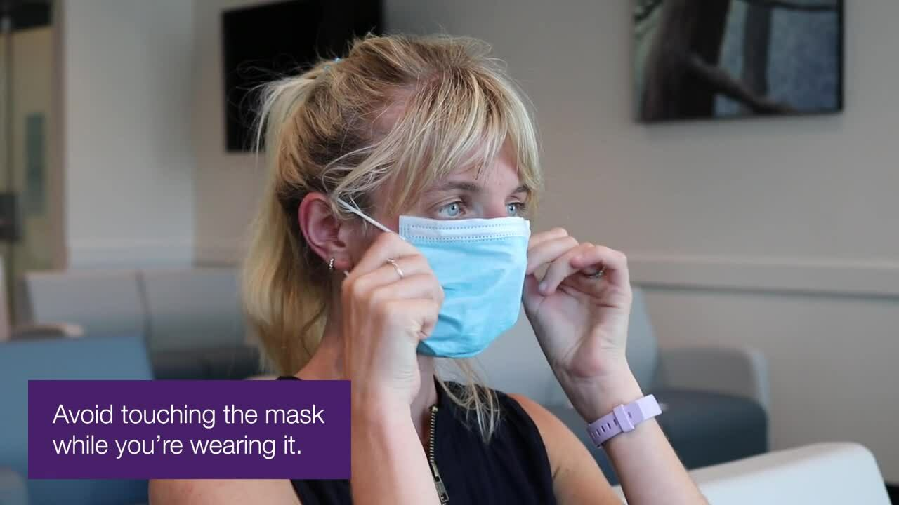 How to wear a mask - Medisys