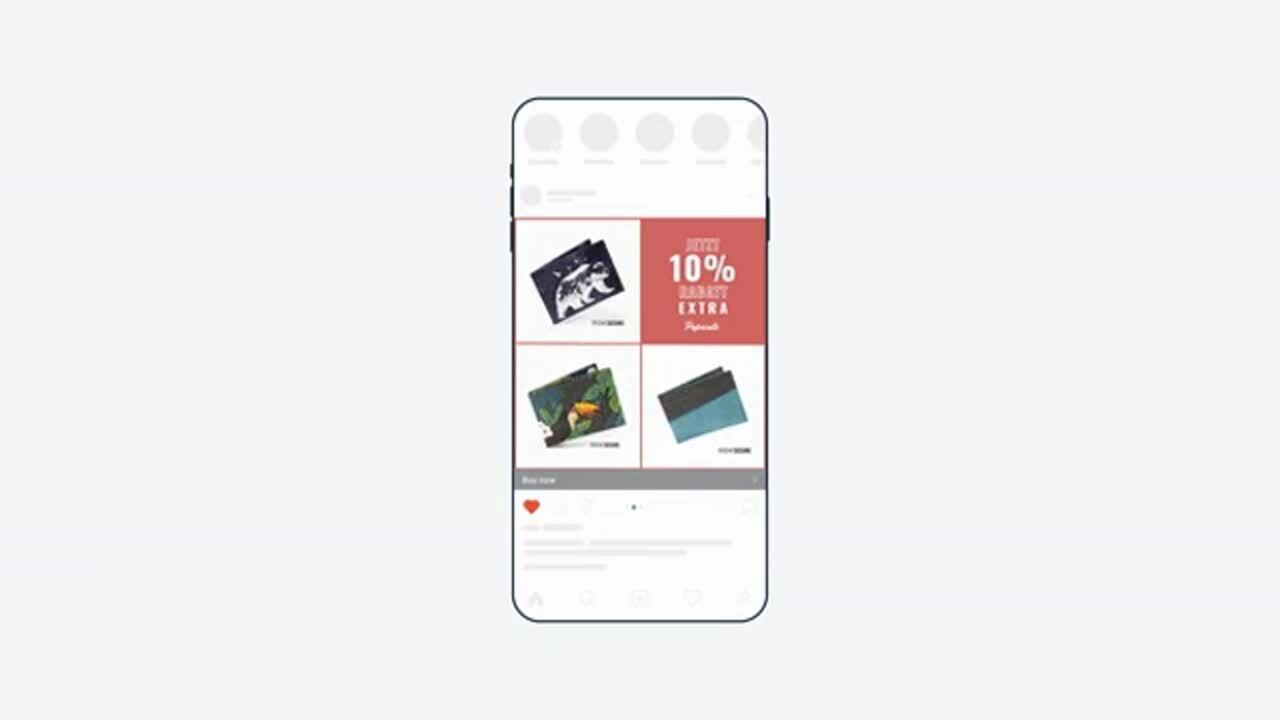 on brand slideshow video ad