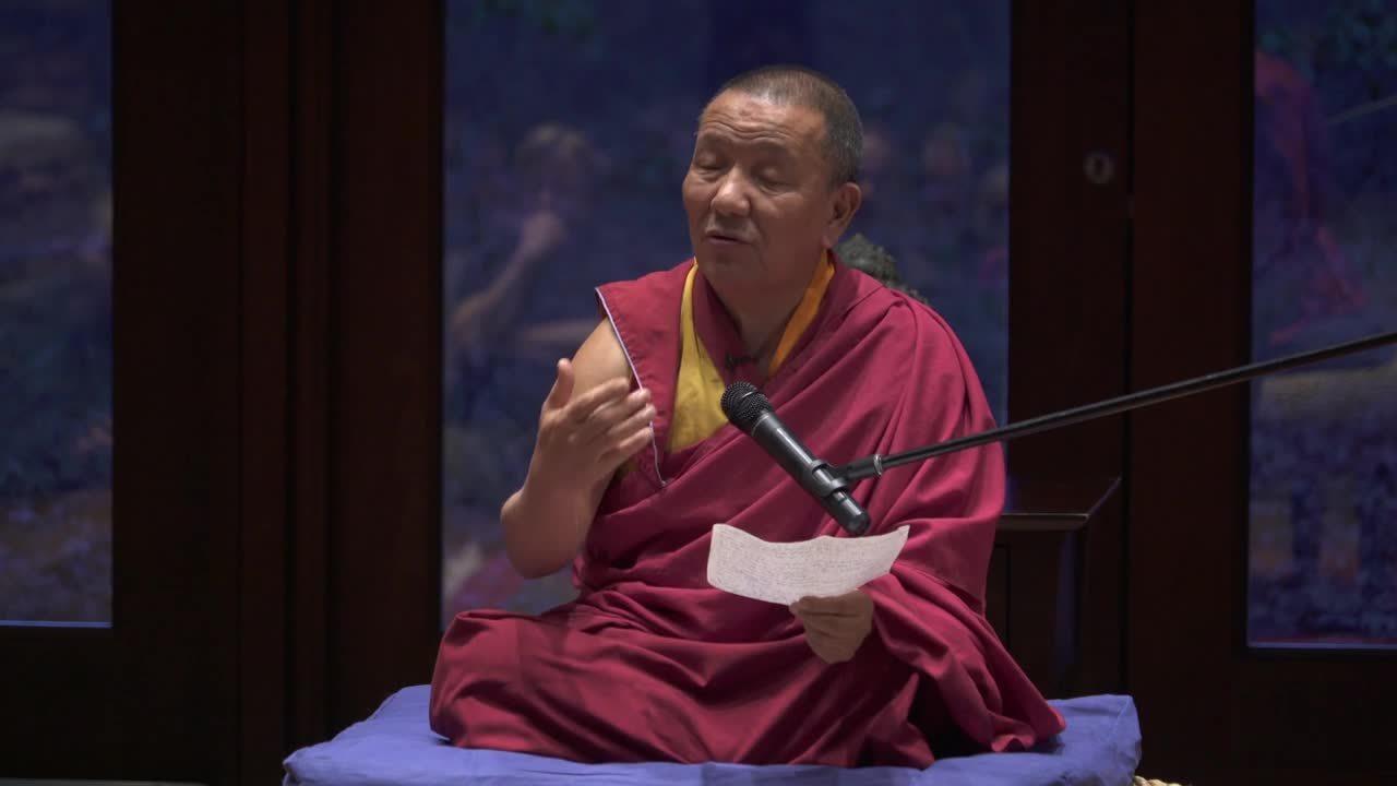 Lama Tenzin @Ross 2019