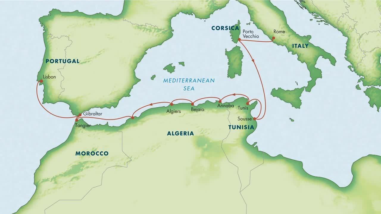 Mediterranean Mosaic_ Italy, Corsica, Algeria, Tunisia & Morocco