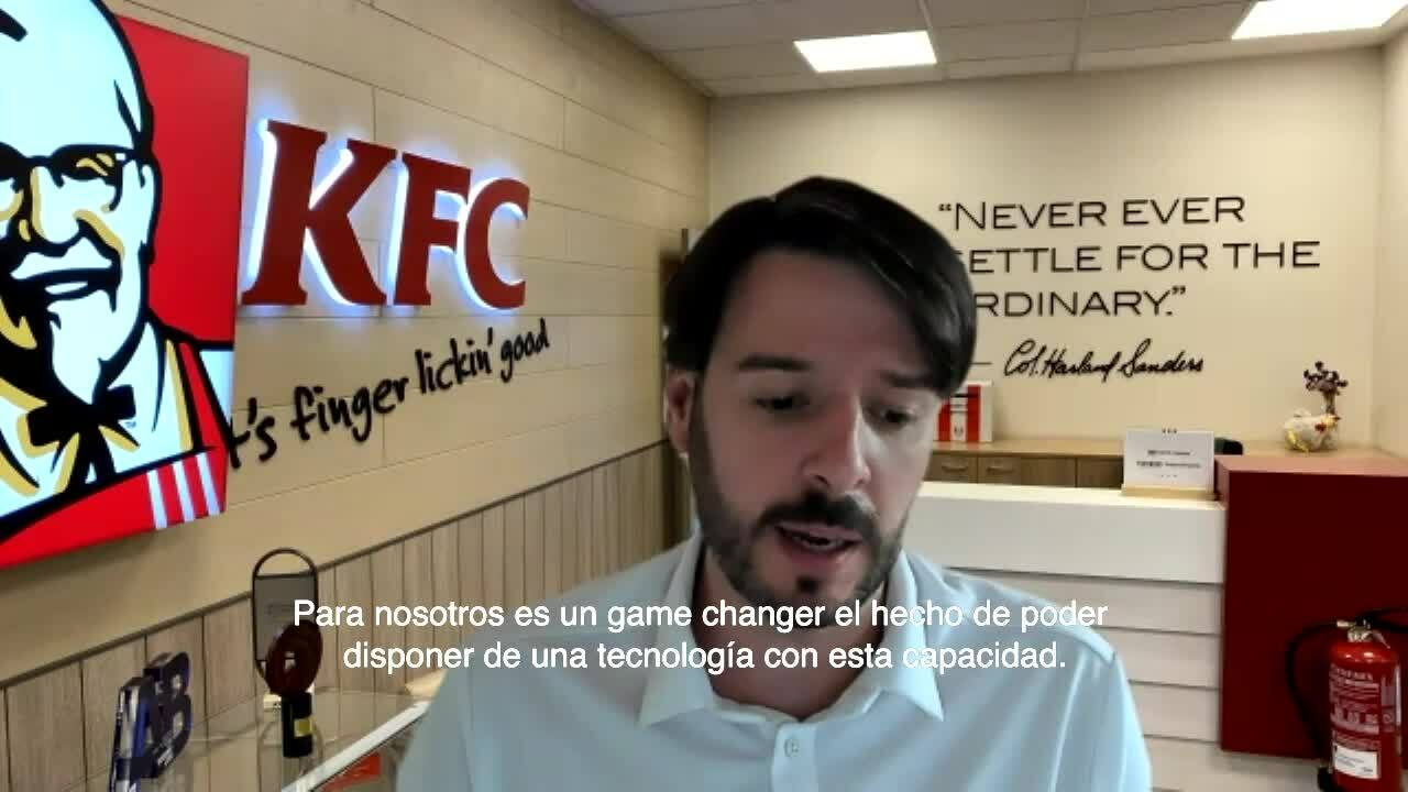 KFC --  Deliverect video testimonial ES