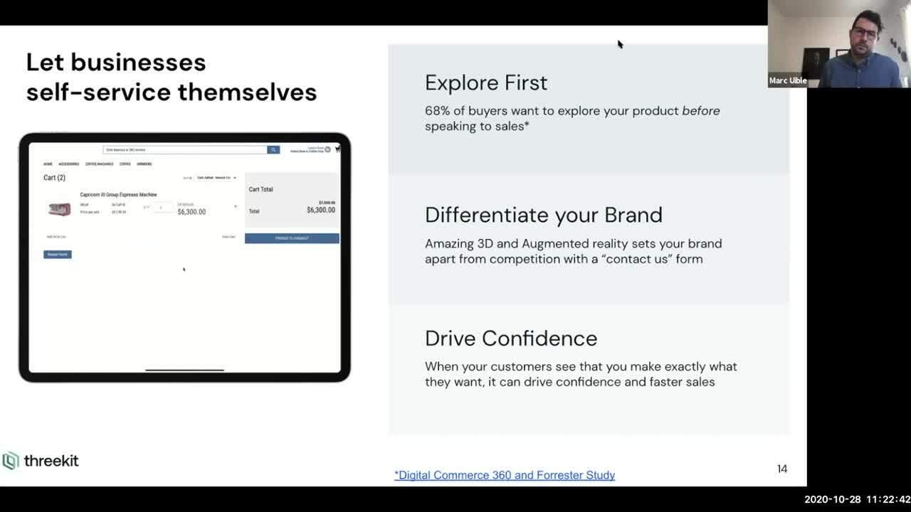 Threekit Webinar - 4 Ways to Upgrade Your Online Commerce Experience Webinar