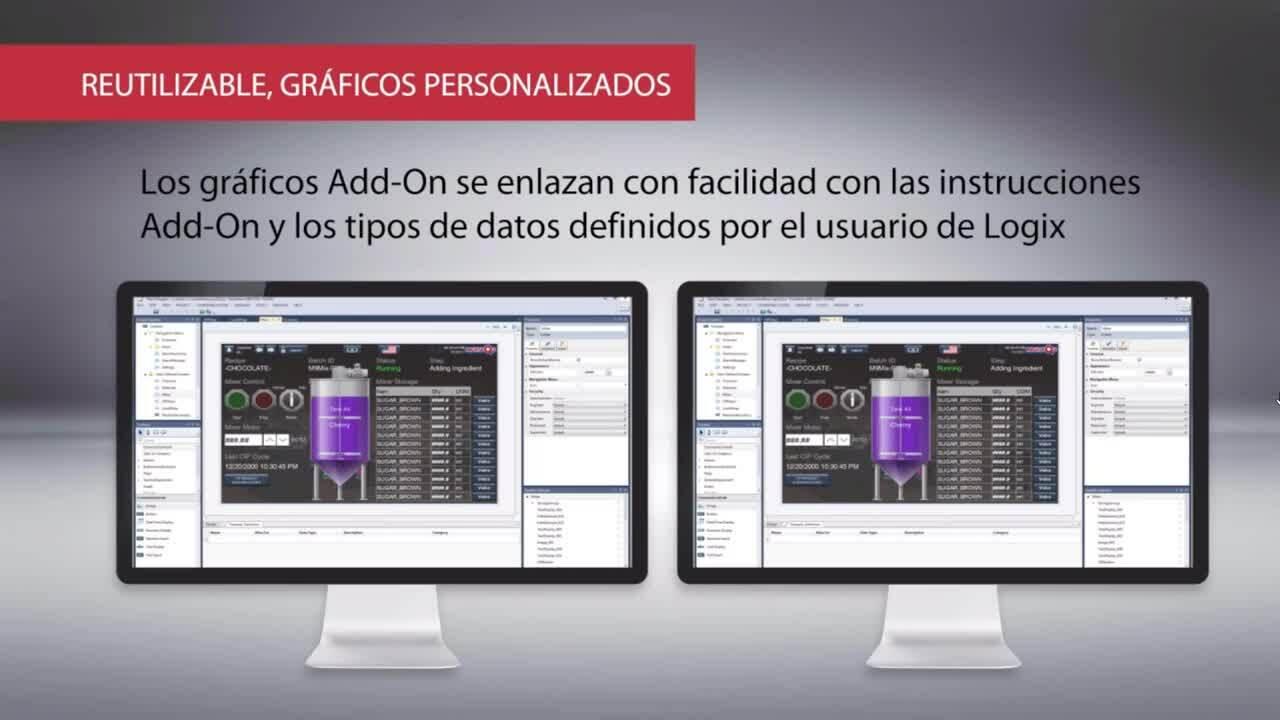Panelview 5000 Video Español