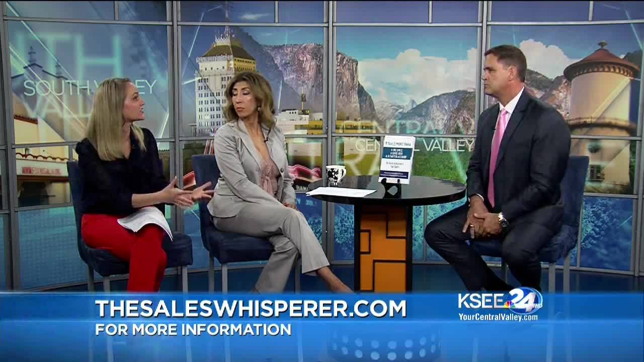 the sales whisperer - ksee24 nbc central valley today (april2018)