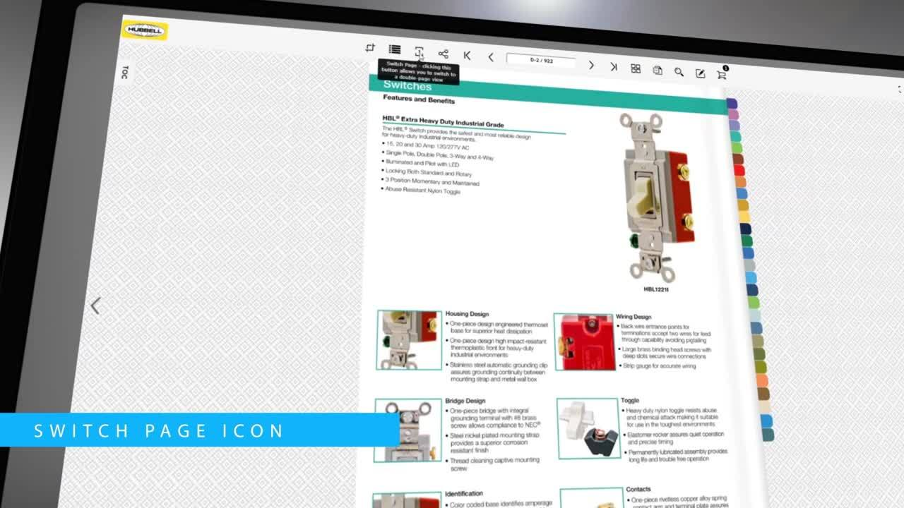 New Online Catalog from Hubbell Wiring Device-Kellems Introduces Time-Saving Features