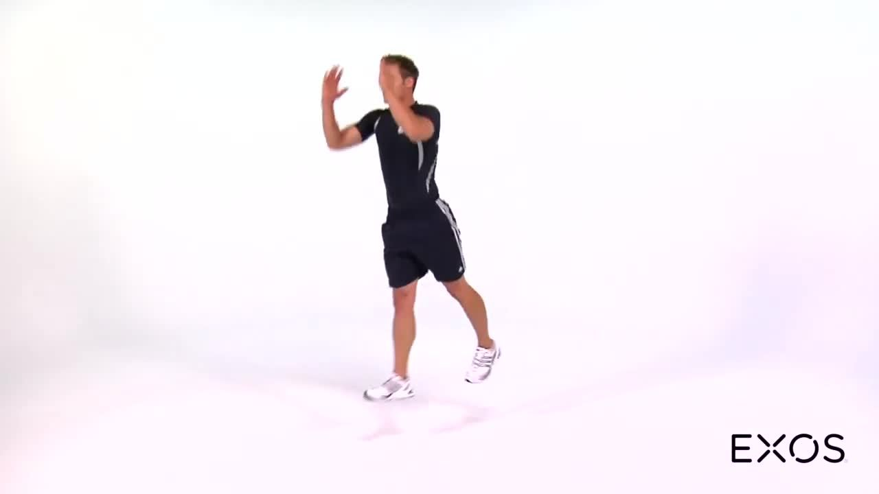 Split Squat Jump - Alternating Continuous