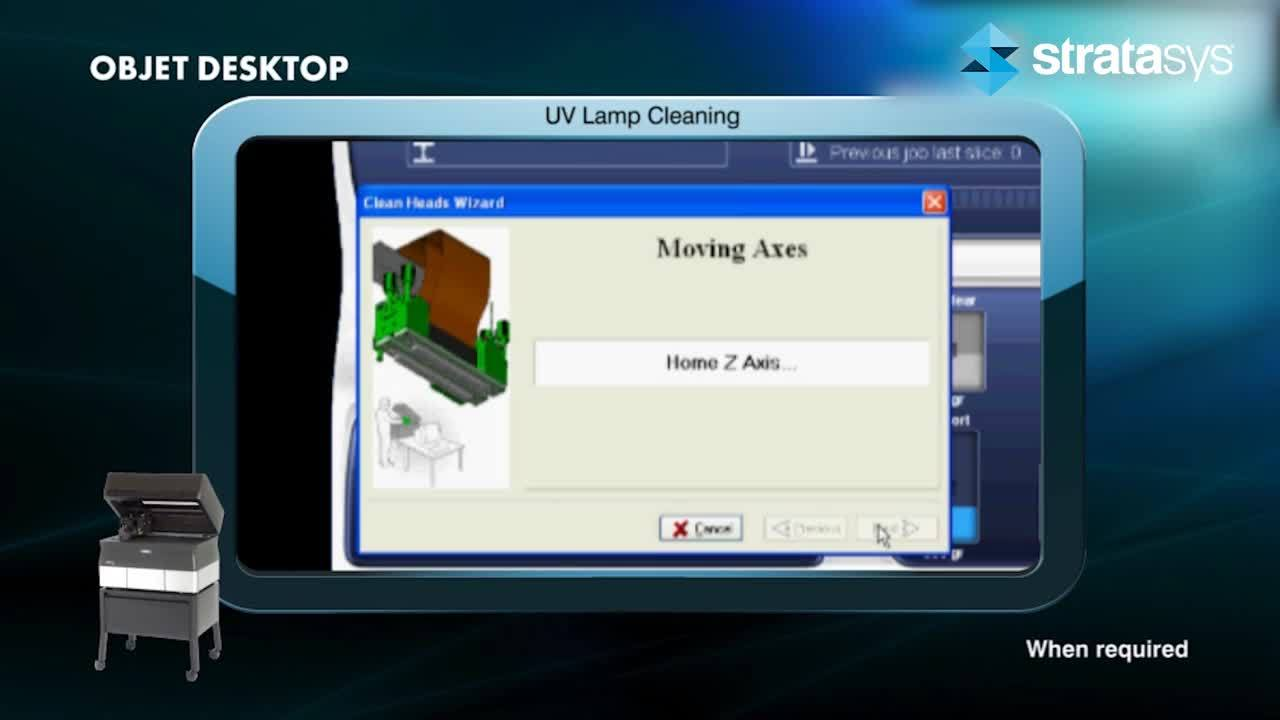 UV Lamp Cleaning - Desktop