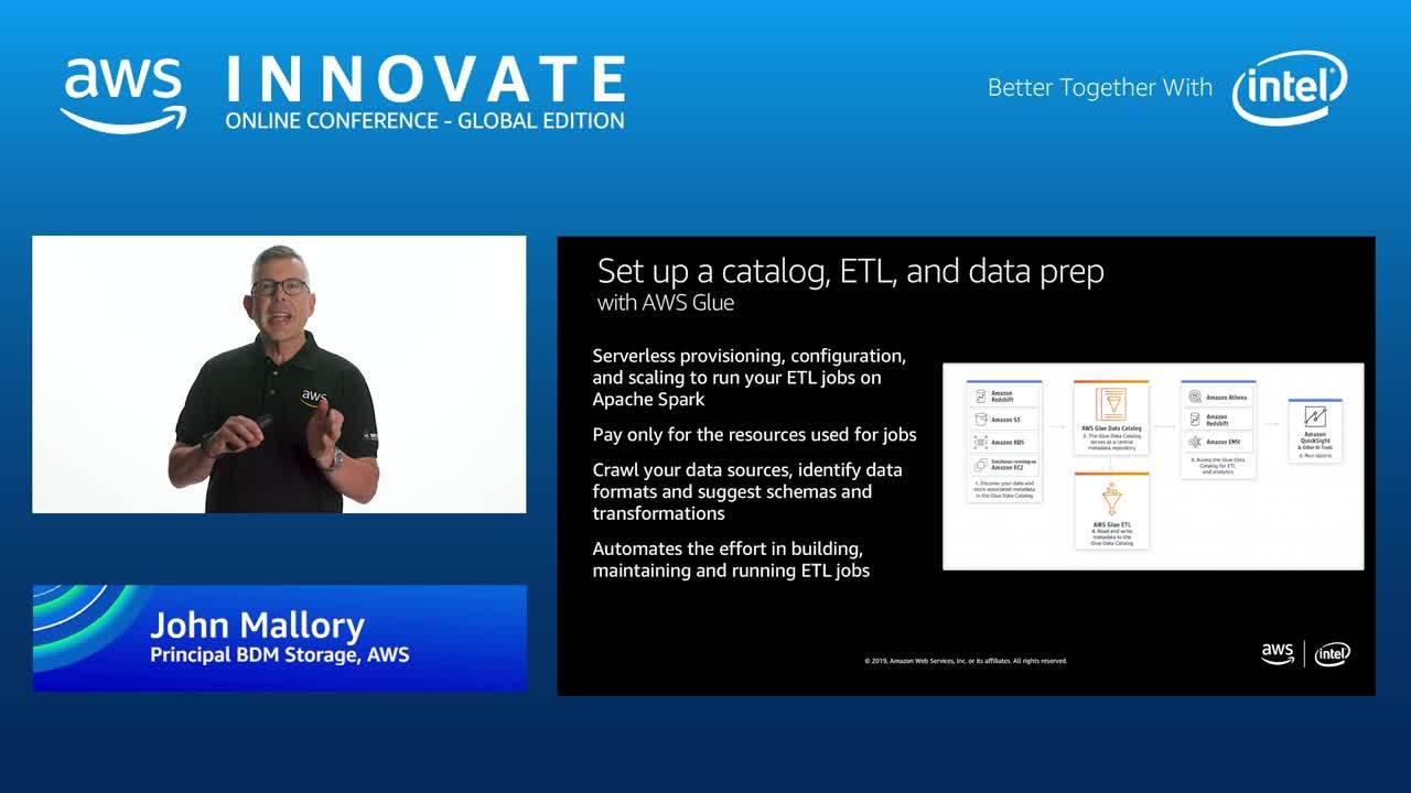 Build data lakes with Amazon S3 - AWS Innovate