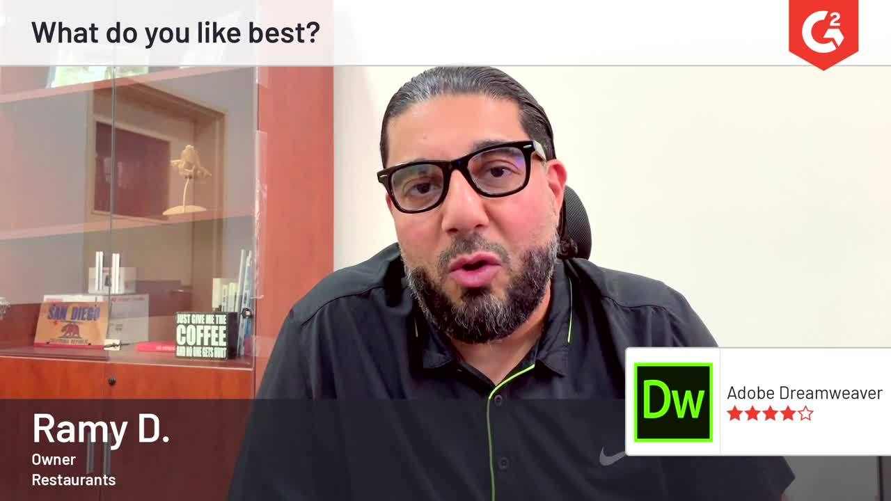 Adobe Dreamweaver Reviews 2019: Details, Pricing, & Features | G2