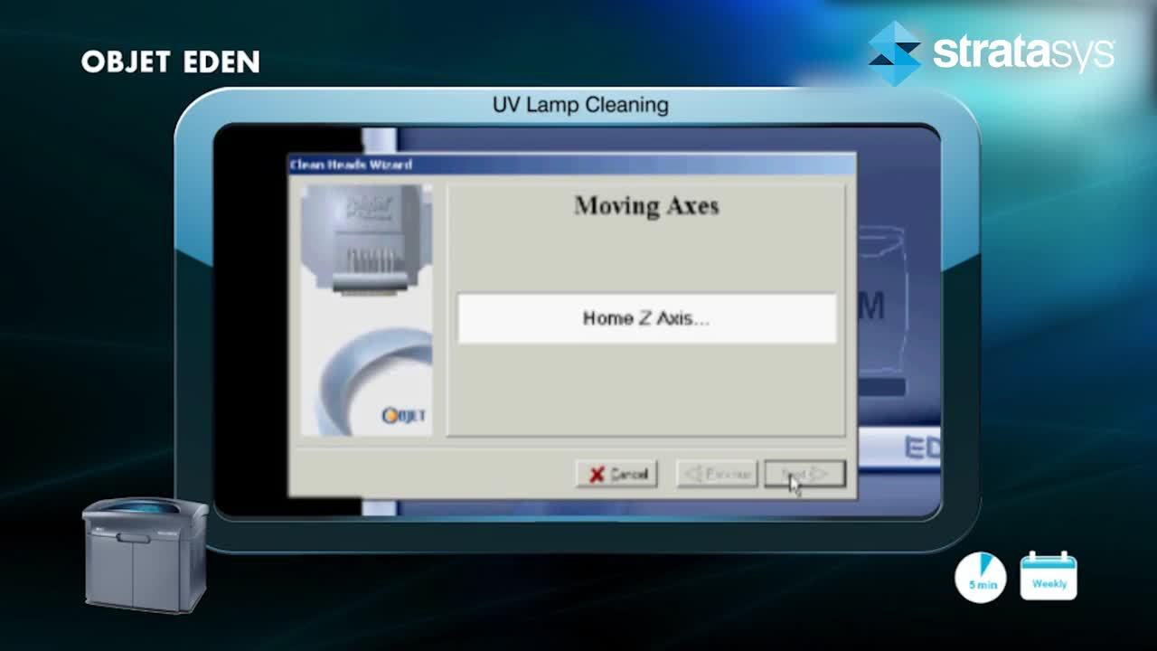 UV Lamp Cleaning - Eden