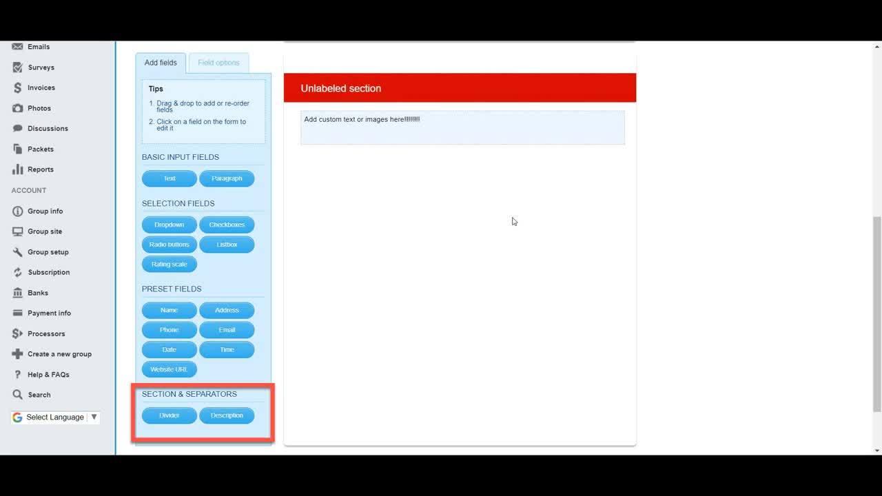 Payment Forms Walkthrough_NCGA