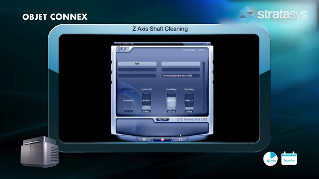 Z-Axis Shaft Cleaning - Connex %>