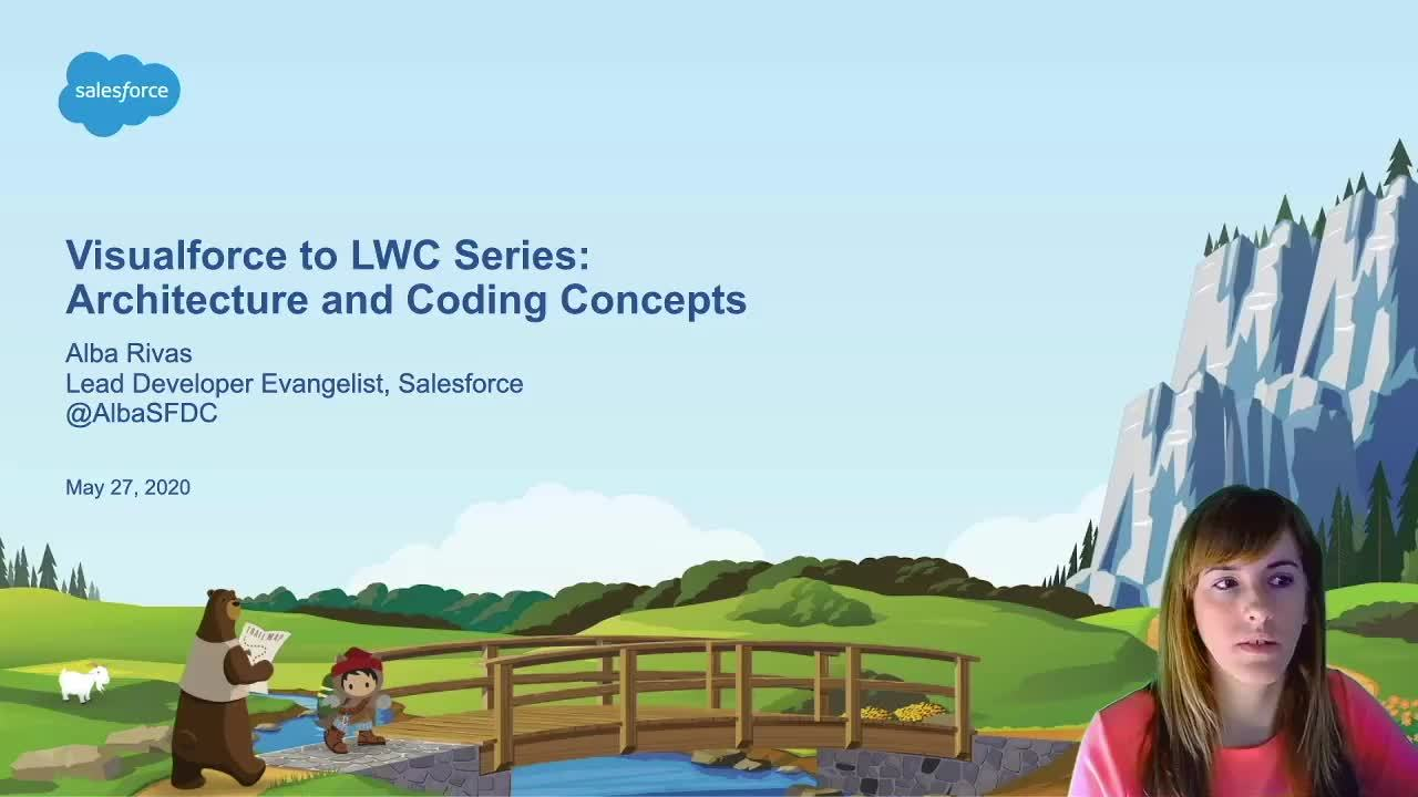 Video: Visualforce to LWC Series - Architecture and Coding Concepts