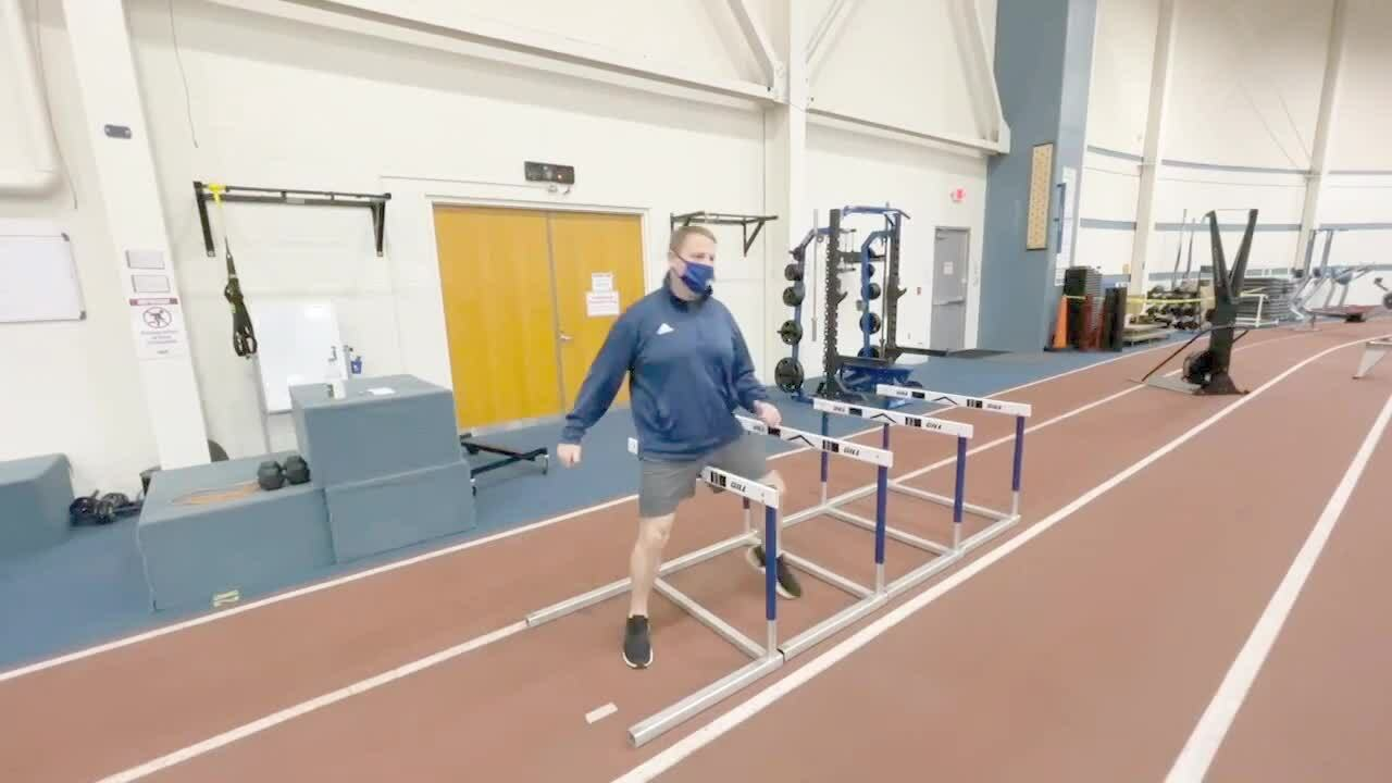 Hurdle Stretches