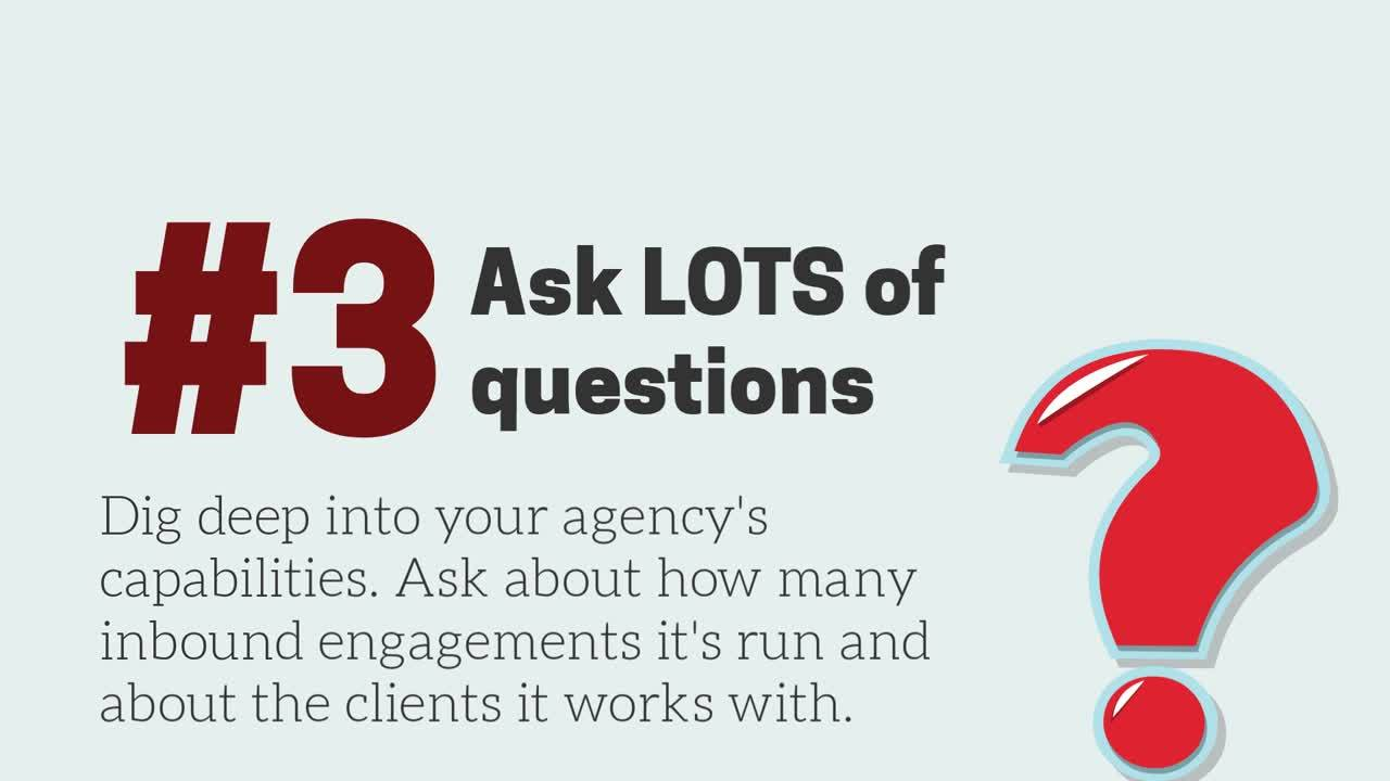 How to select an inbound agency in 7 steps