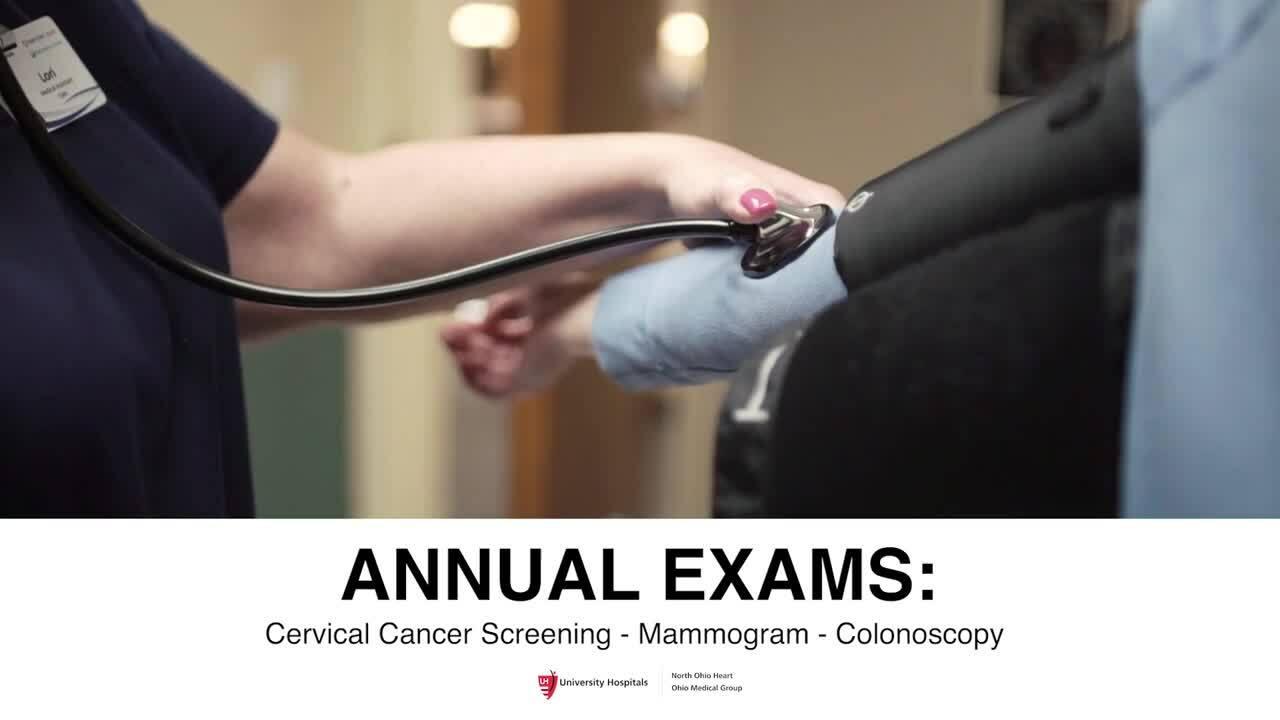 Annual Exams-Dr. Stevens