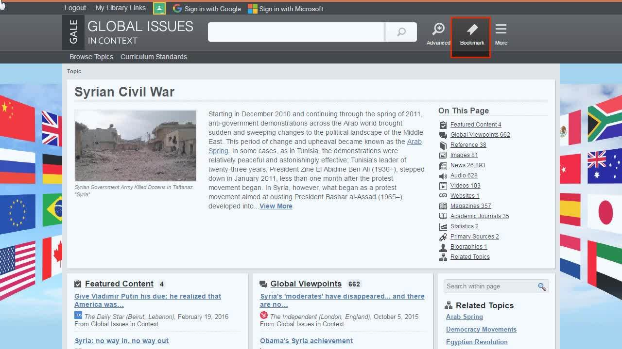 Global Issues In Context - Topic Pages Thumbnail
