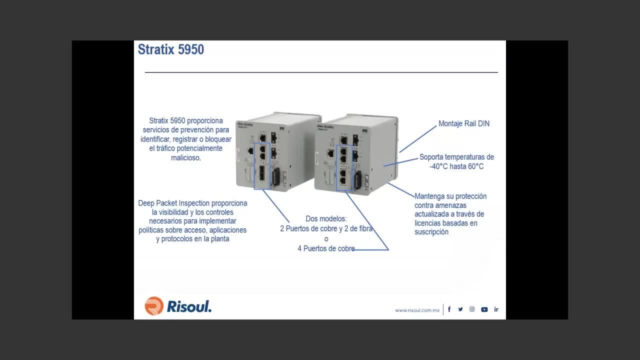 60 Como funciona un firewall industrial Stratix