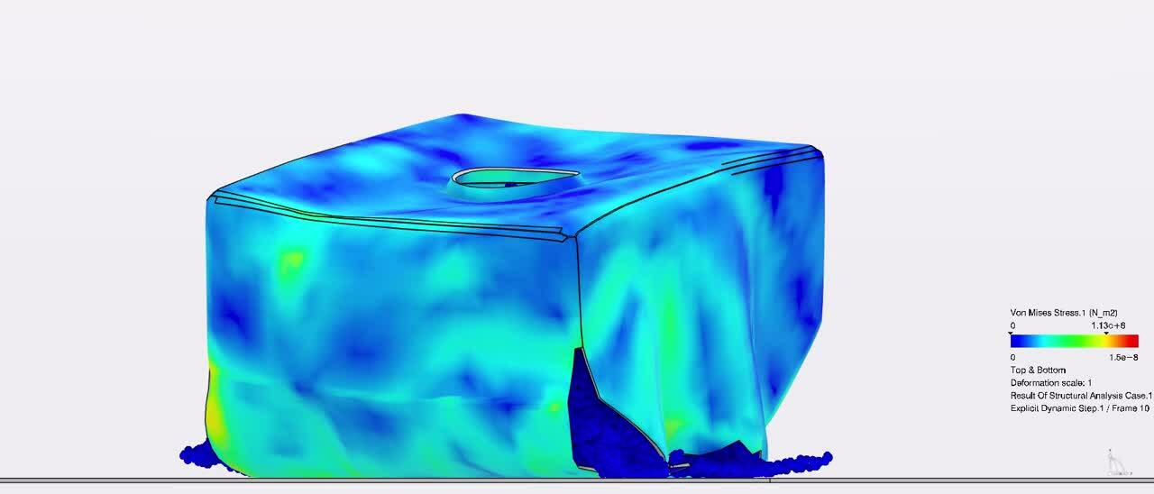 tank droptest 3D experience