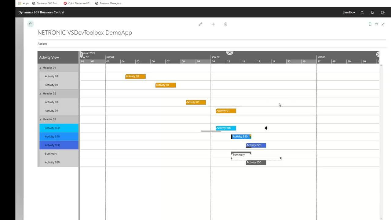 How to build your own visual scheduler with the Toolbox Sep 2020