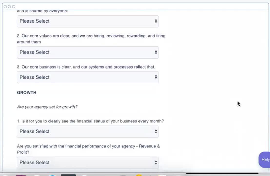 Agency Health Check Video