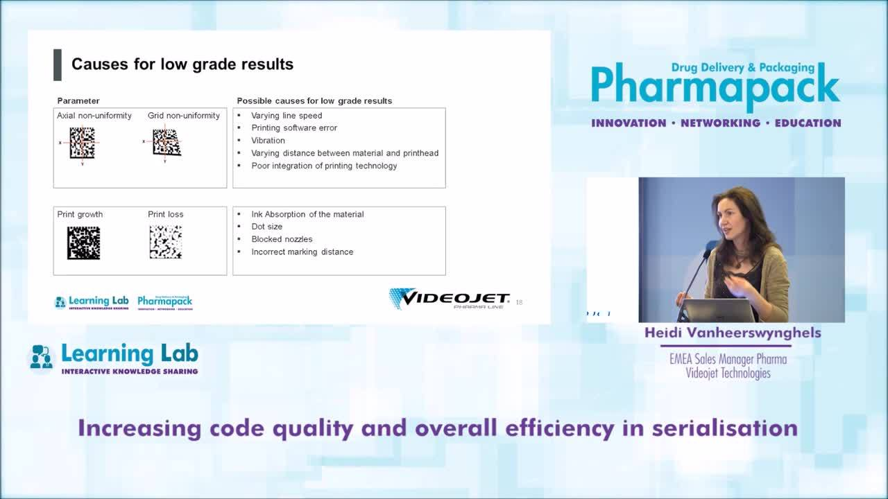 Increasing Code Quality and Efficiency in Serialisation – Presentation at Pharmapack 2018, Paris