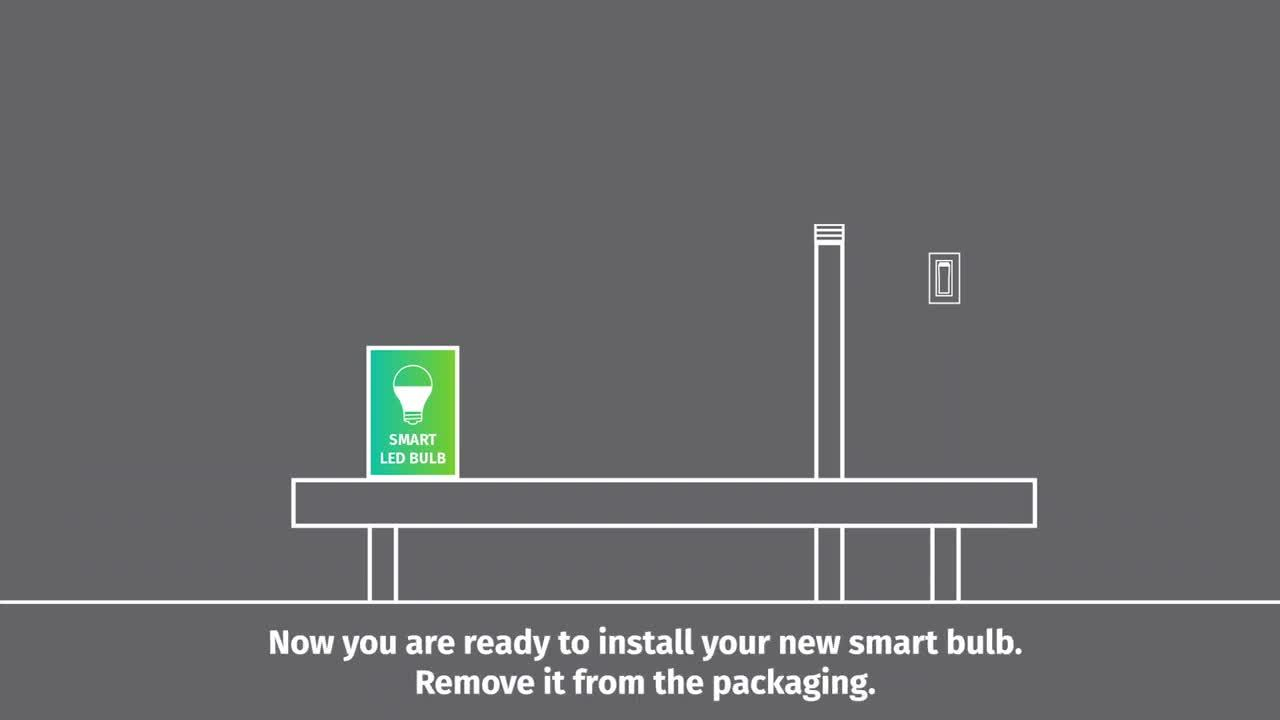 Simply Conserve Smart Bulb Installation