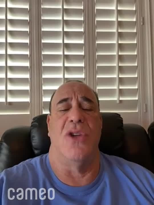 Cameo by Jon Taffer - visit cameo.com to get a message from your favorite person