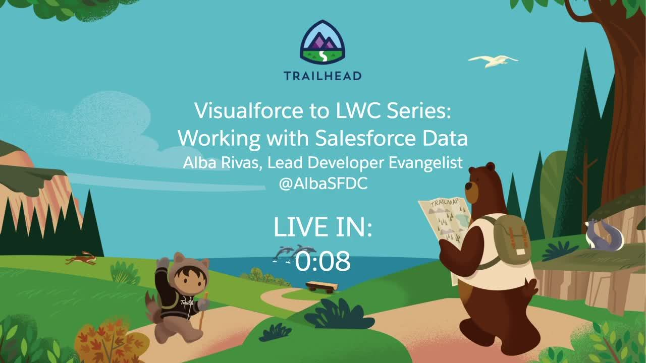 Video: Visualforce to LWC Series: Working with Salesforce Data