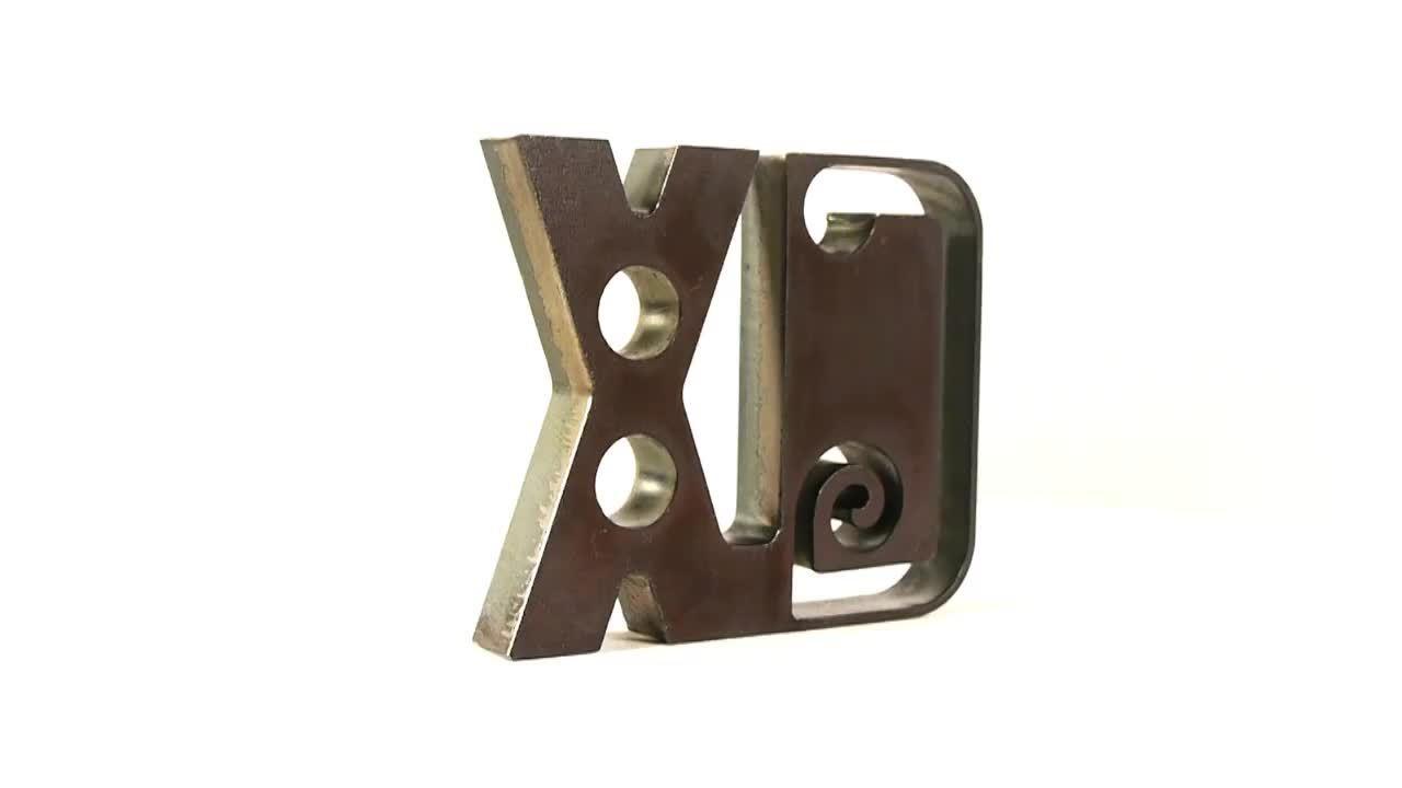 HPRXD sample 20 mm (.75 in) mild steel