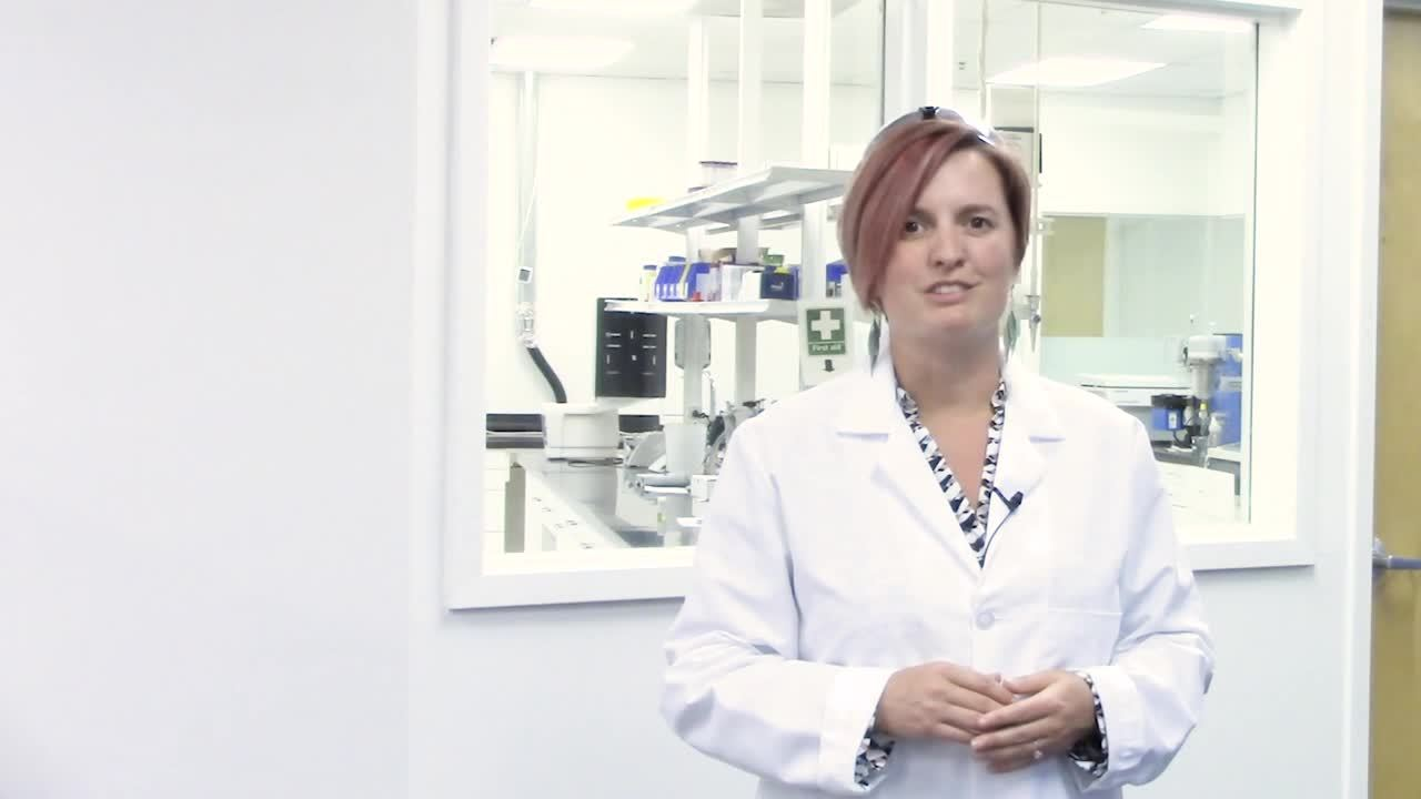 Removing DMSO with Biotage® V-10 Touch