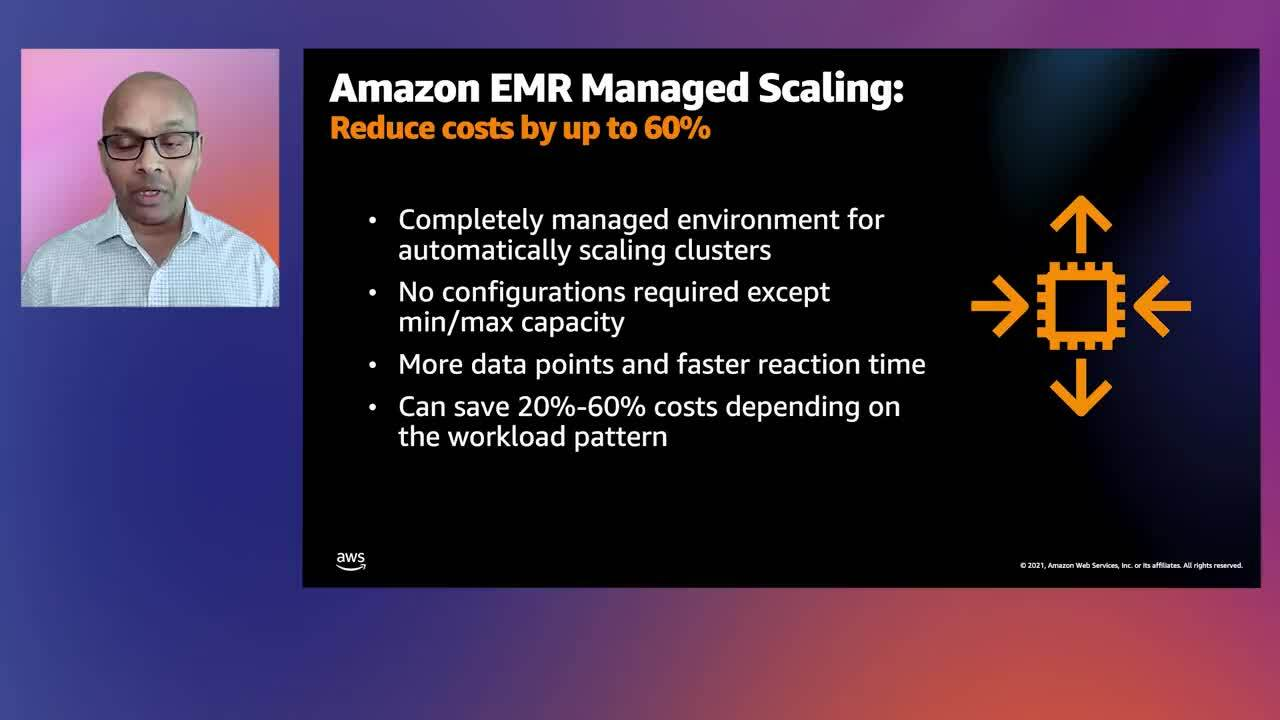 Move Apache Spark, Hadoop, Prestro, and other big data applications to the cloud with Amazon EMR - K