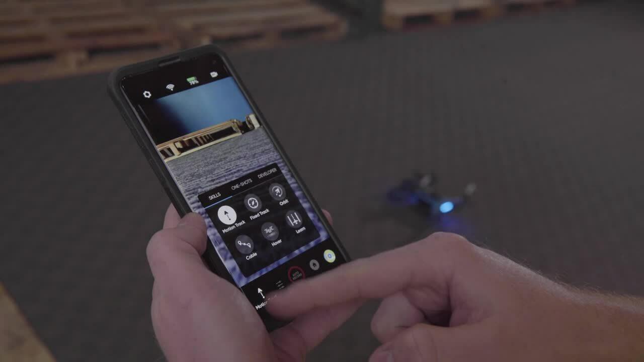 600. Checking Ware Skill version in Skydio 2 app