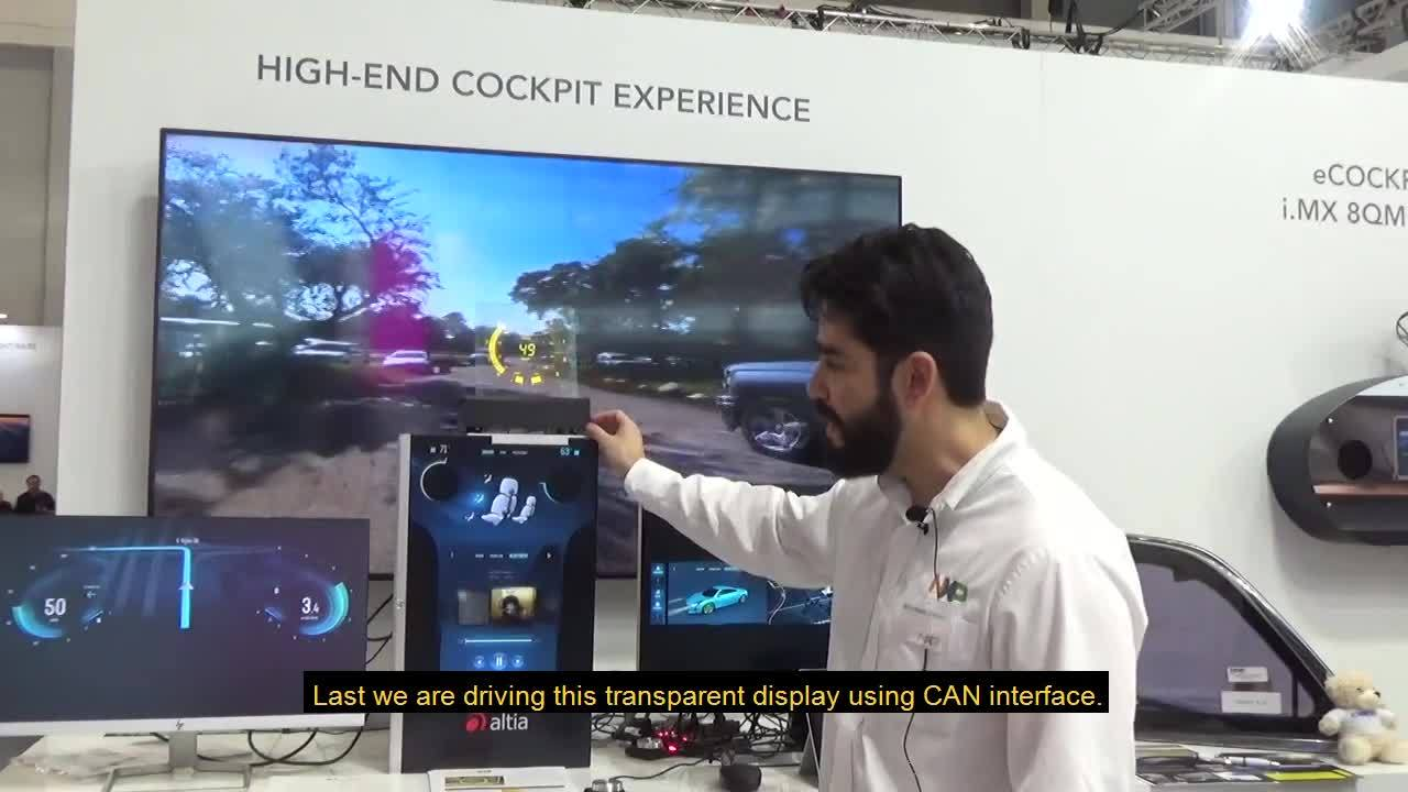Embedded World NXP Lumineq demo_Guillermo Michel