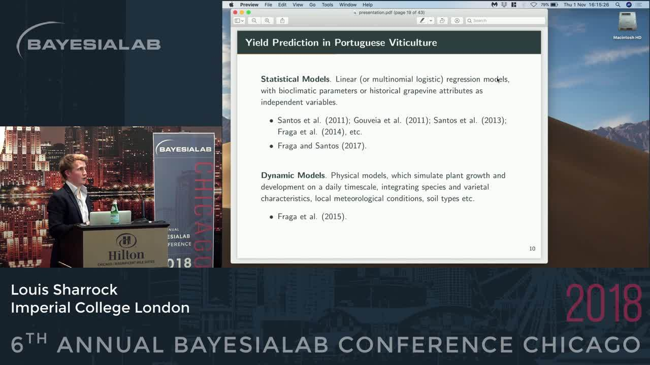 2018-11-01 BayesiaLab Conference Sharrock