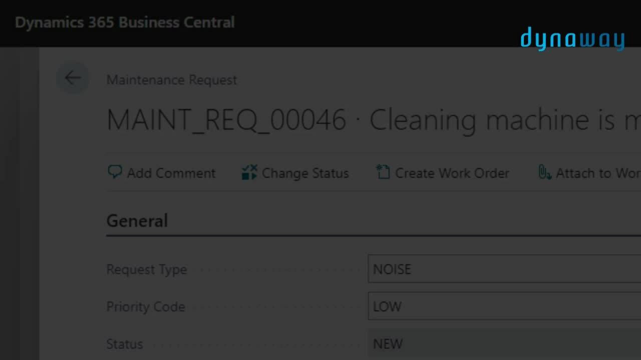 maintenance requests under 1min
