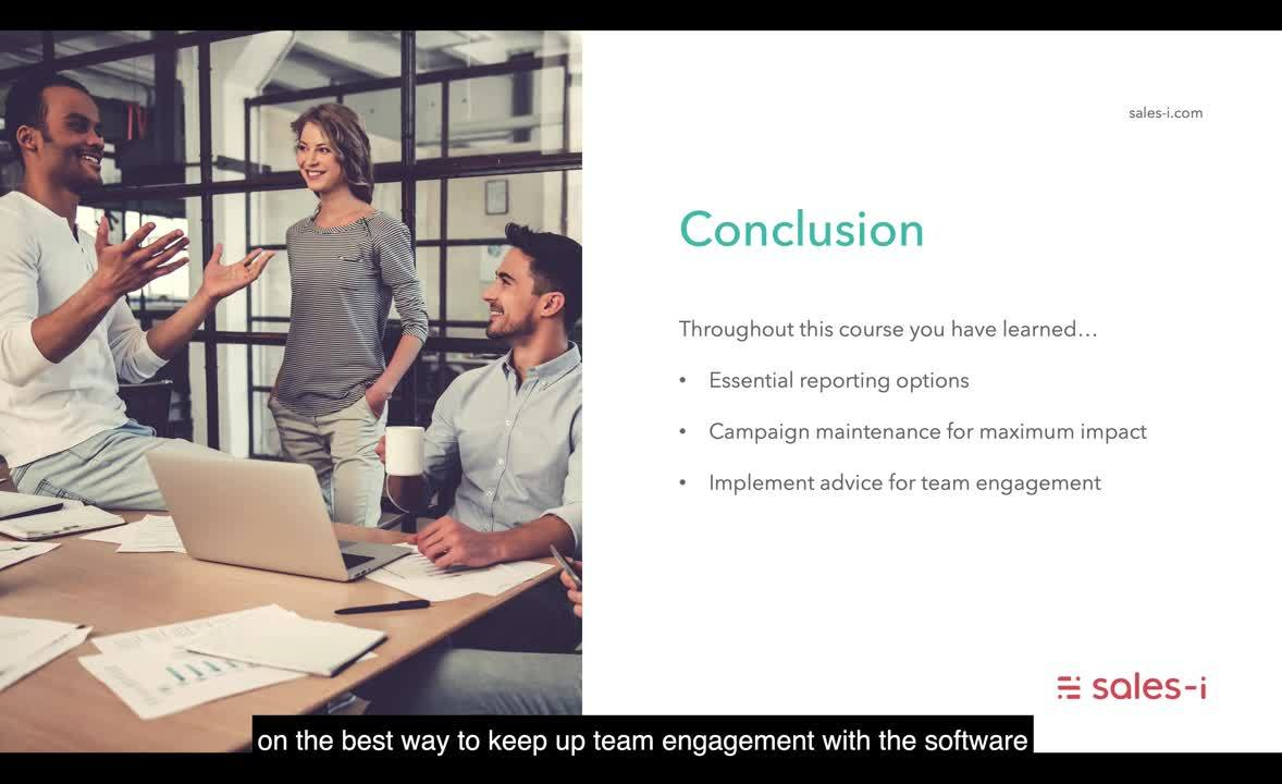 6.1 Conclusion to Core Sales Manager Techniques
