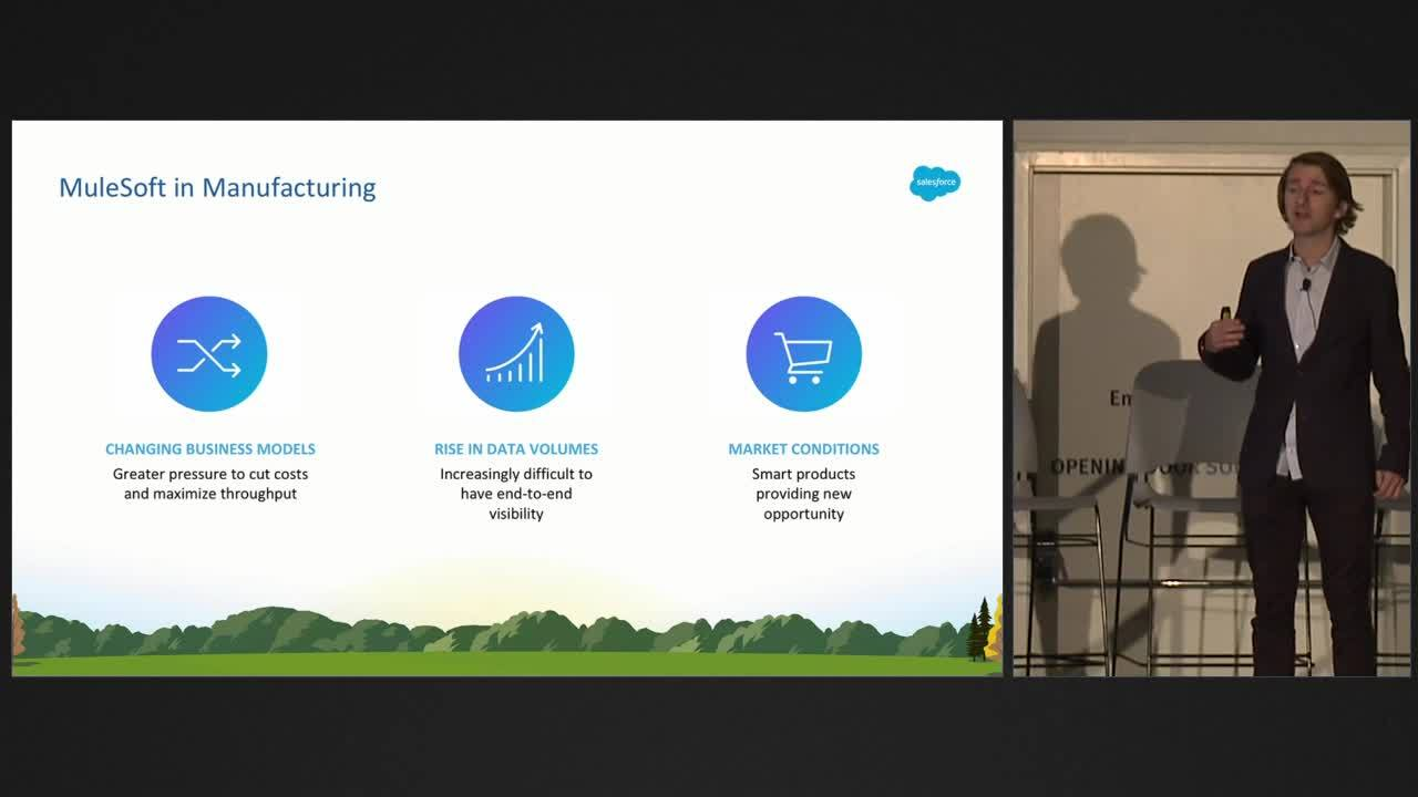 Dreamforce 2018: Agility through reuse- streamlining complexity in ABB with MuleSoft