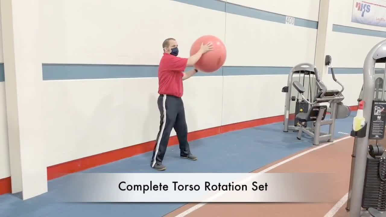 Stability Ball Warm Up Series