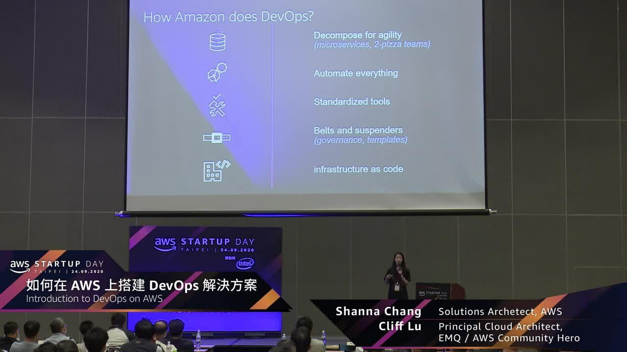 [Session 2] 如何在AWS上搭建DevOps 解決方案
