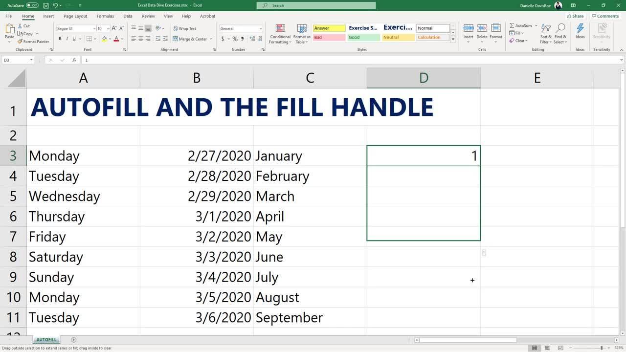 2020.03 Excel Autofill
