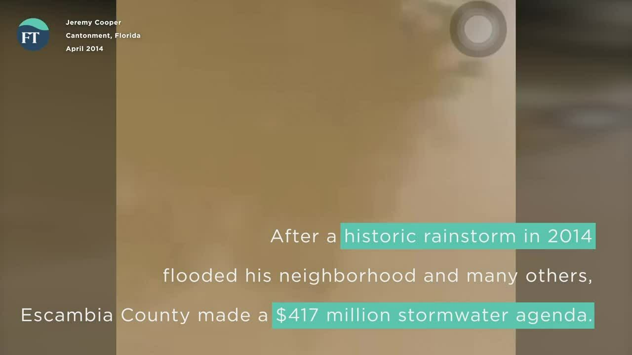 Cantonment Resident Recovering From Second 100-Year Flood